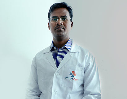 Image of Dr. Vikranth Suresh  uterine fibroid specialist in Bangalore
