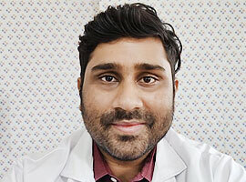 Image of Dr. Vemuru Tejaswi tonsillectomy specialist in Hyderabad