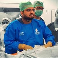 Image of Dr. Maunil Bhuta hydrocele specialist in Mumbai